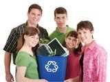recycling family