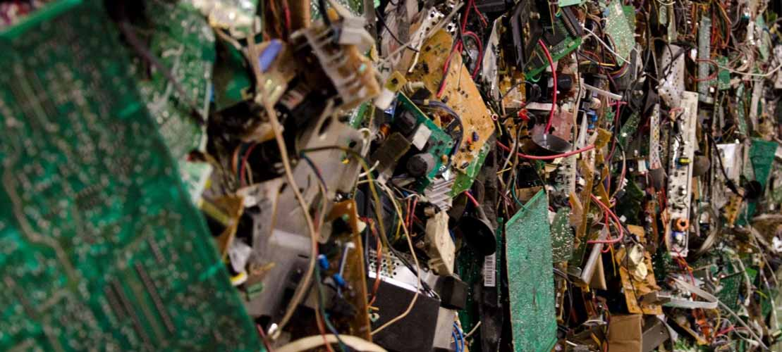 All Green Recycling E-Waste Patchwork