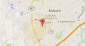 Auburn Map Image
