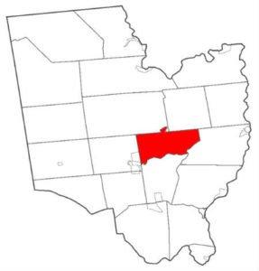 saratoga map image