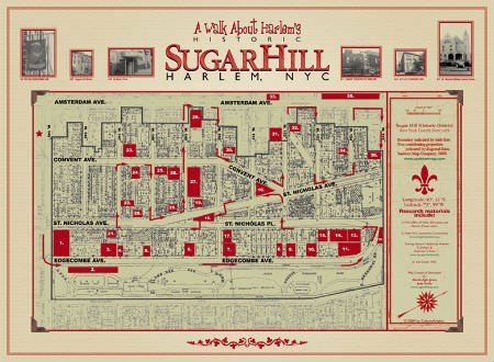 Sugarhill Map Image