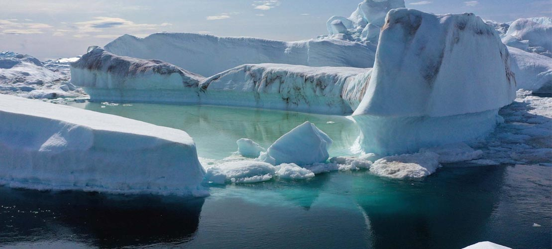All Green Recycling Record Melting In Greenland