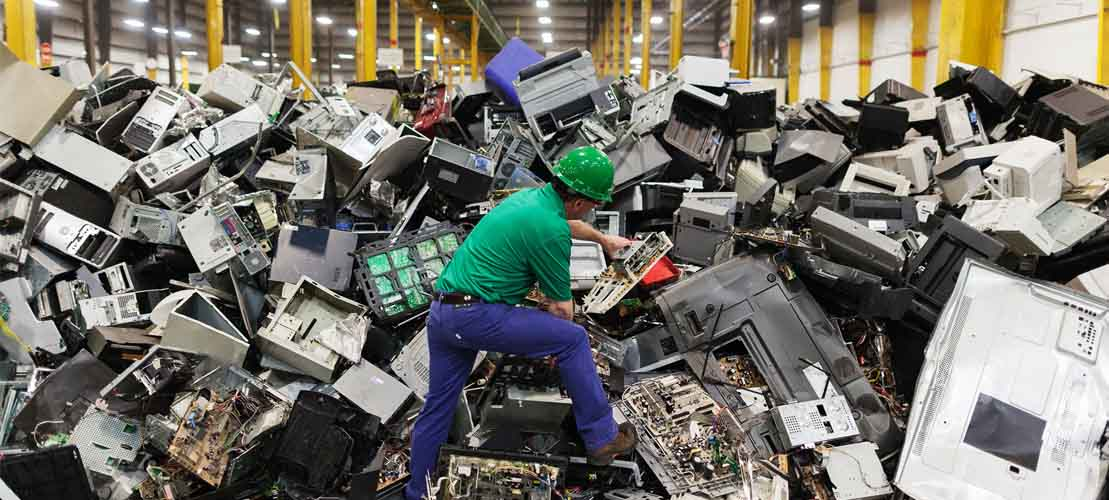 All Green Recycling Oregon E-waste Industry