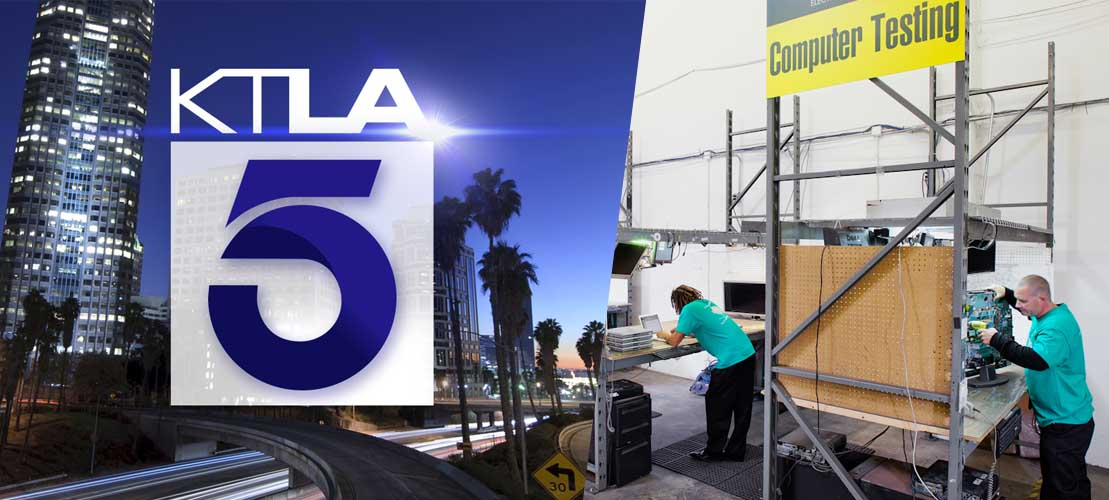 All Green Spotlight on KTLA