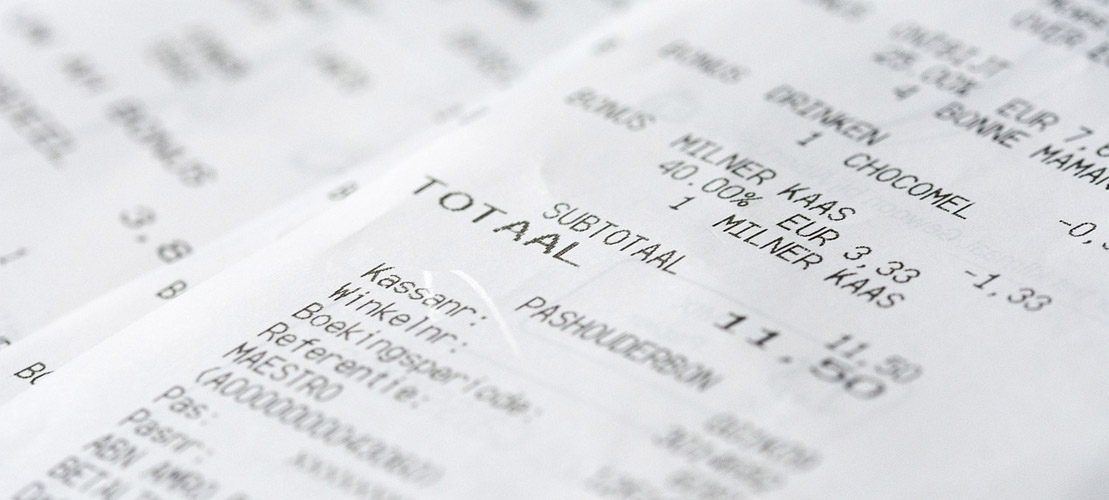 All Green BPA-free receipts