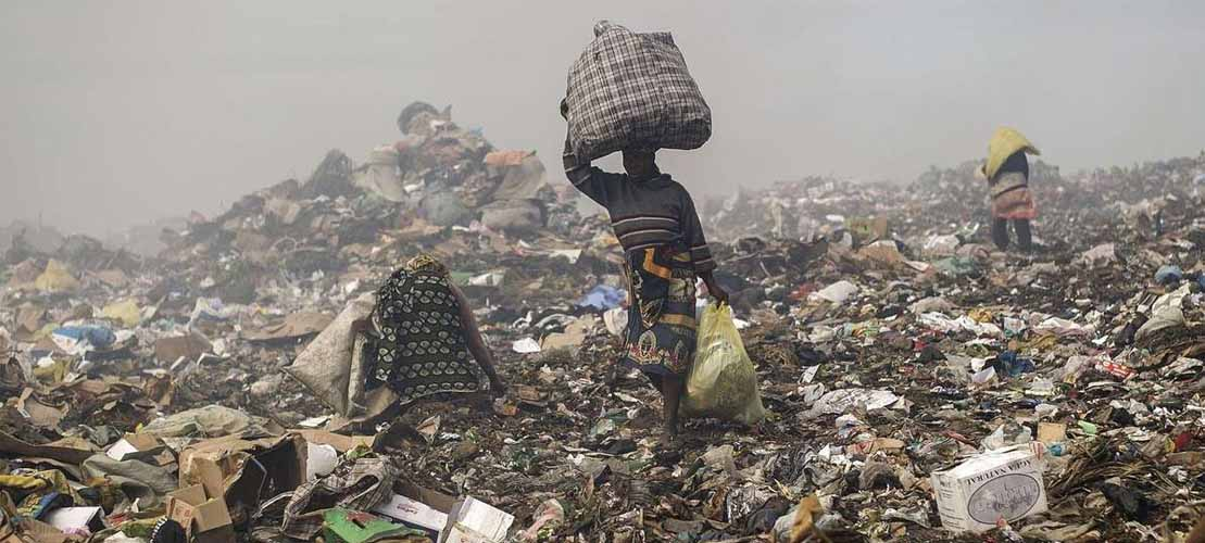 All Green Uk waste illegally dumped in Ghana