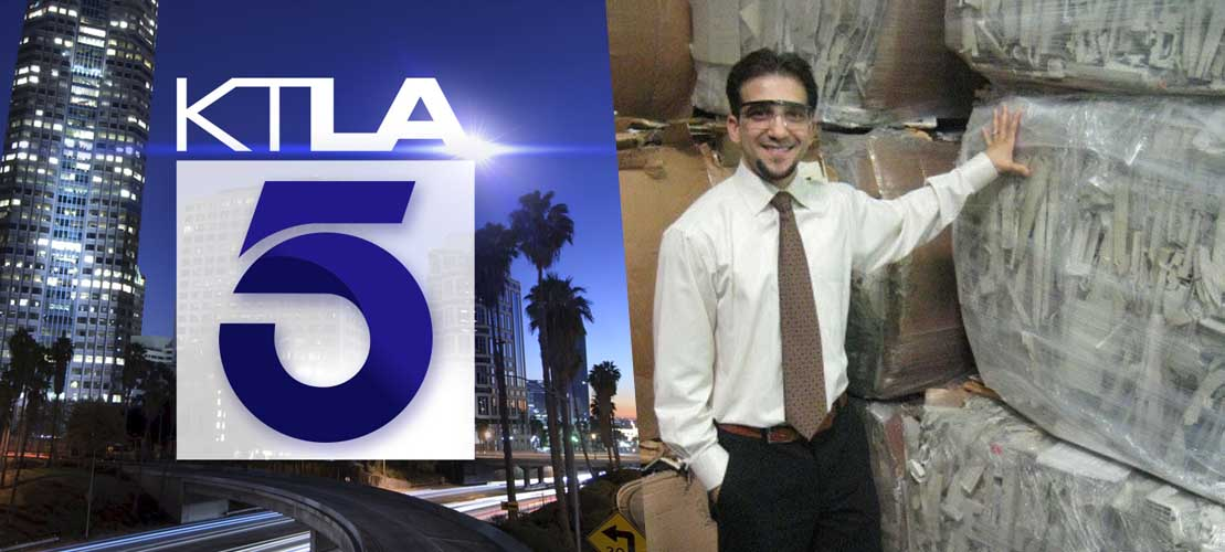 All Green Recycling Featured on KTLA News