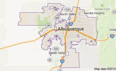 Albuquerque Map