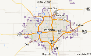 wichita-ks-map