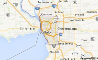 Buffalo Ny Map Image