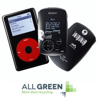 Recycling Mp3 Player Image