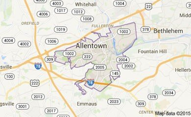 Allentown Map