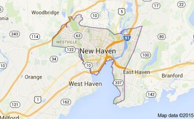 New Haven Ct Map Image