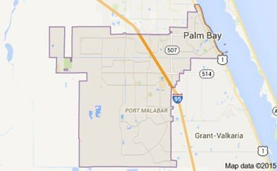 palm-bay-fl-map