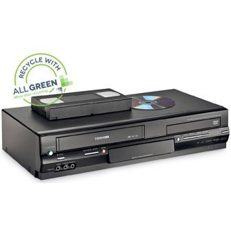 Recycle Your Old DVD Player and VCR & Other Electronics image