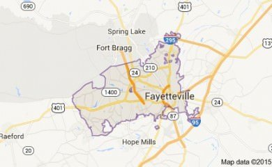 fayetteville-nc-map