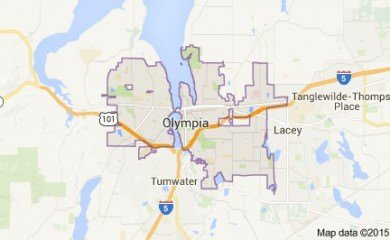 olympia-wa-map