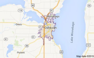 oshkosh-wi-map