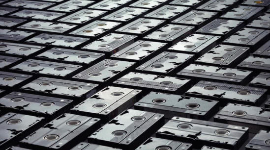 How To Dispose Of VHS Tapes Image - AGR