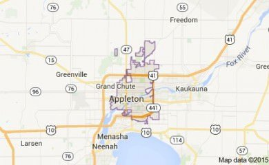 Appleton Map