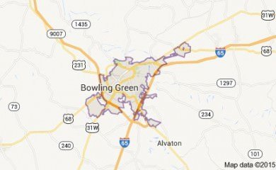 Bowling Green Ky Map Image