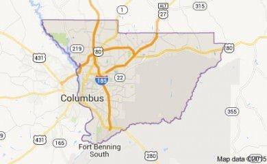 Columbus Ga Map
