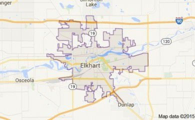 elkhart-in-map