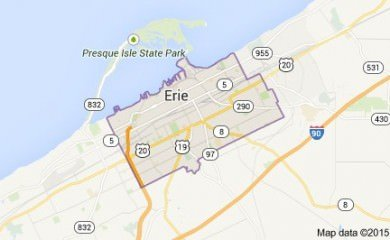 Erie Pa Map