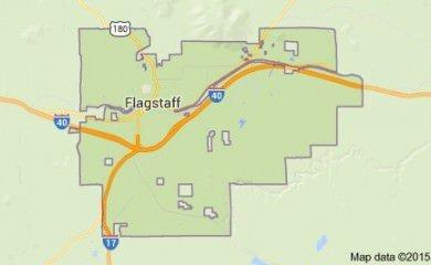 Flagstaff Az Map Image