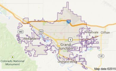 Grand Junction Co Map