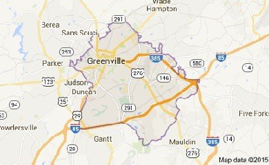 greenville-sc-map