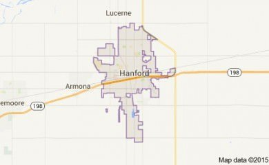 Hanford Map Image