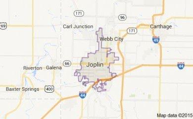 Joplin Mo Map Image