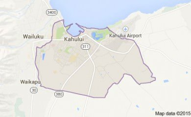 Kahului Hi Map Image