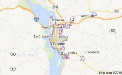 La Crosse Wi Map Image