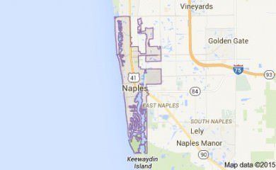 Naples Fl Map Image