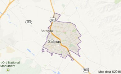 salinas ca map image