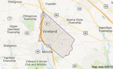 vineland-nj-map