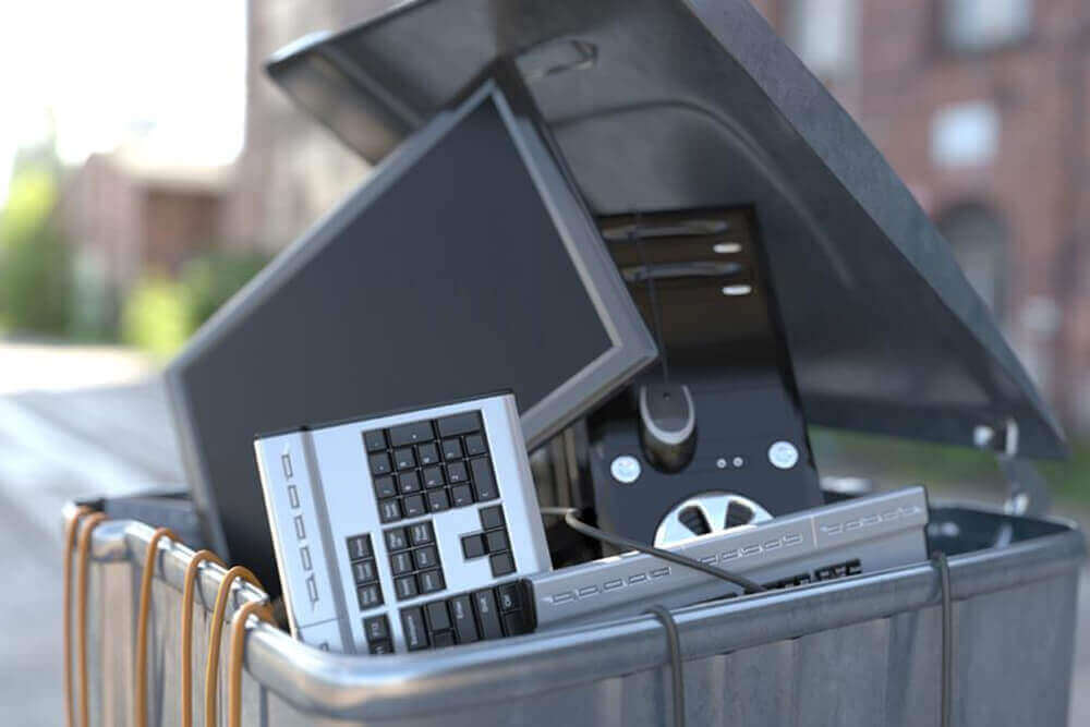 Dispose of Computer Components Image - AGR