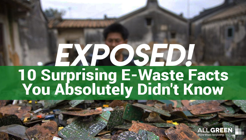 Exposed 10 Surprising E-waste Facts You Didn't Know Banner