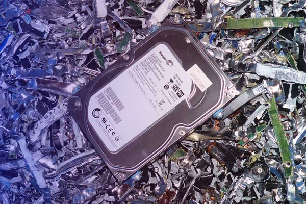 All Green Recycling Hard Drive Destruction